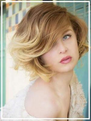 model rambut wanita ombre bob 2016 1014778