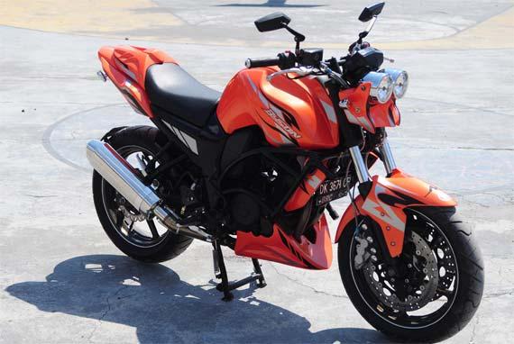 Gambar Modifikasi Yamaha Byson Ala Buell Amerika. title=