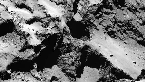 El cometa Churiúmov-Guerasimenko podría albergar vida extraterrestre