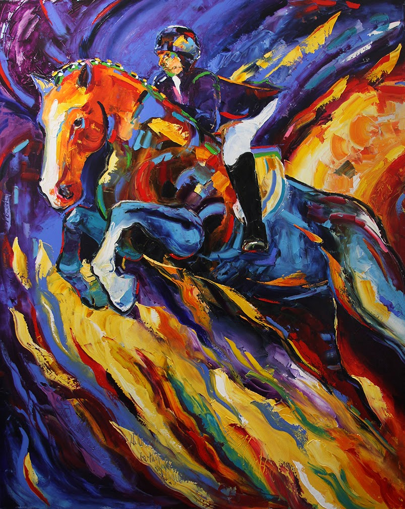 Contemporary Painters 2014 daily painters abstract gallery: soar on wings, contemporary