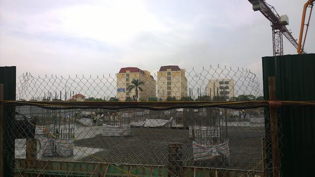 Tiến độ xây dựng Bright City