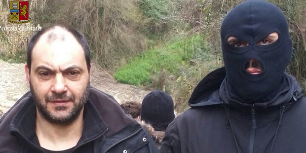 Mob bosses captured in bunker by Italian Police