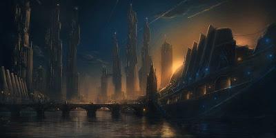ilustracion conceptual de ciudad