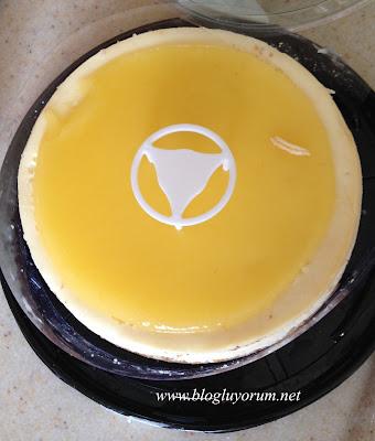 Kek's Bakery Tadıtam Limonlu Cheesecake 2