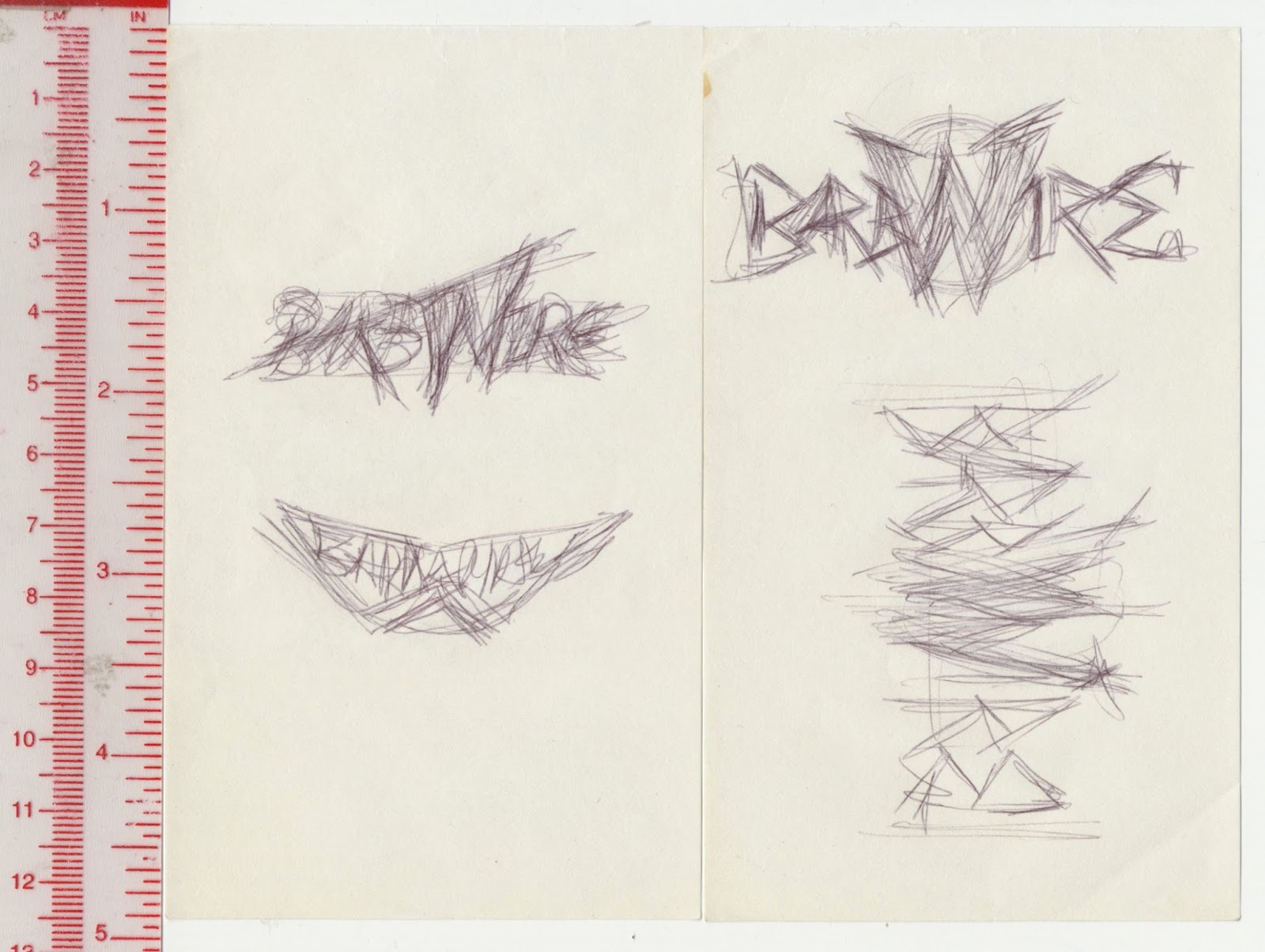 Tenth Letter of the Alphabet: Anatomy of a Logo: Barb Wire