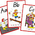 belajar alfabet melalui media kartu baca ( p - t )