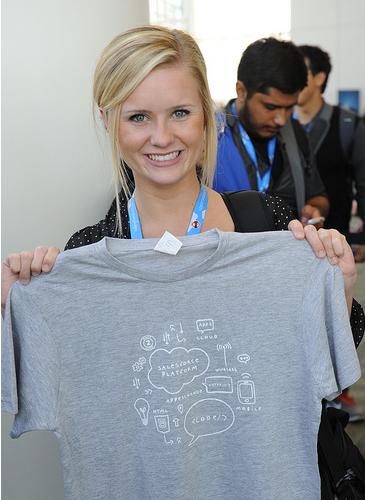 London salesforce developers dreamforce aftermath jr0cket for Salesforce free t shirt