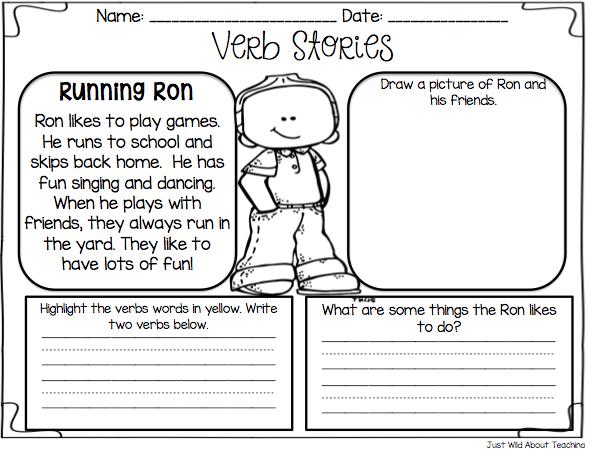 Nouns Verbs Adjectives Worksheets Kindergarten Intrepidpath1000 – Nouns and Verbs Worksheet