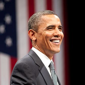 اوباما يقرأ حديث الرسول صلى الله عليه وسلم