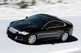 Jaguar XFR black color