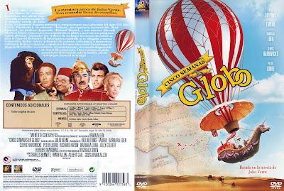 Cover, dvd, carátula: Cinco semanas en globo   1962   Five Weeks in a Balloon