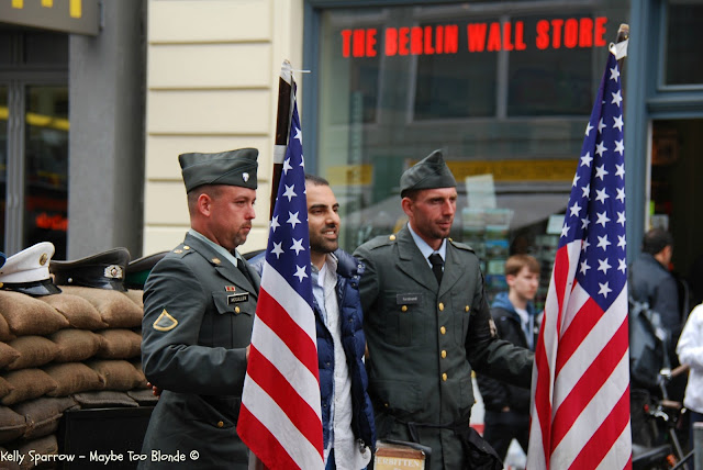 Checkpoint Charlie, American soldiers in Germany, Berlin, Germany, East Berlin