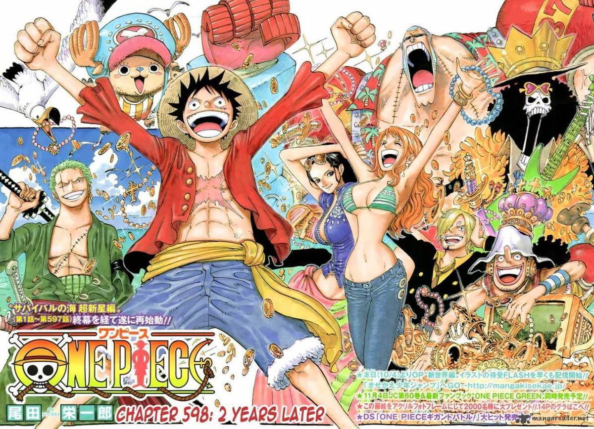 One Piece Delight: One Piece 2 years later