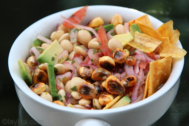 Ceviche de Chochos