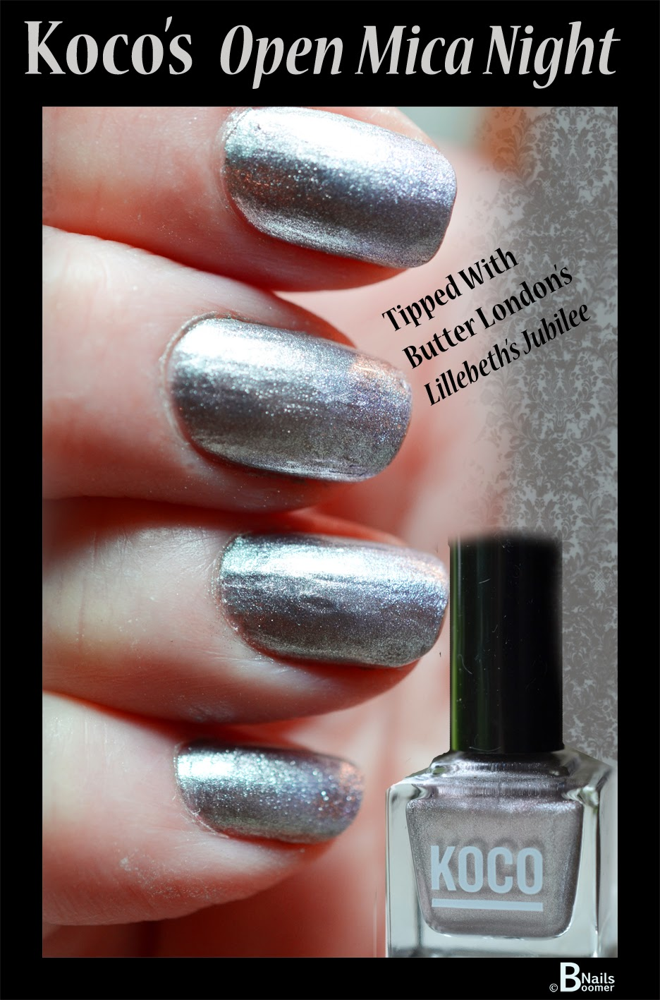 B\'Nails: KOCO by beauty brands-Open Mica Night with Butter London\'s ...