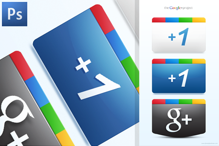Fresh Free Google+ Icons For Your Blog or Website