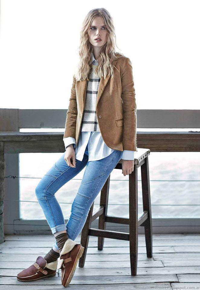 Ropa de mujer trajes sastre invierno 2015 Paula Cahen D'Anvers invierno 2015.