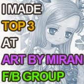 Art By Miran Facebook Challenge Top 3 (April 2015)