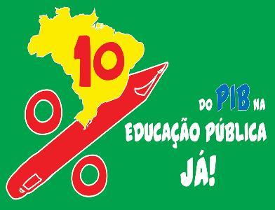Campanha 10% do PIB para a Educação Pública Já!