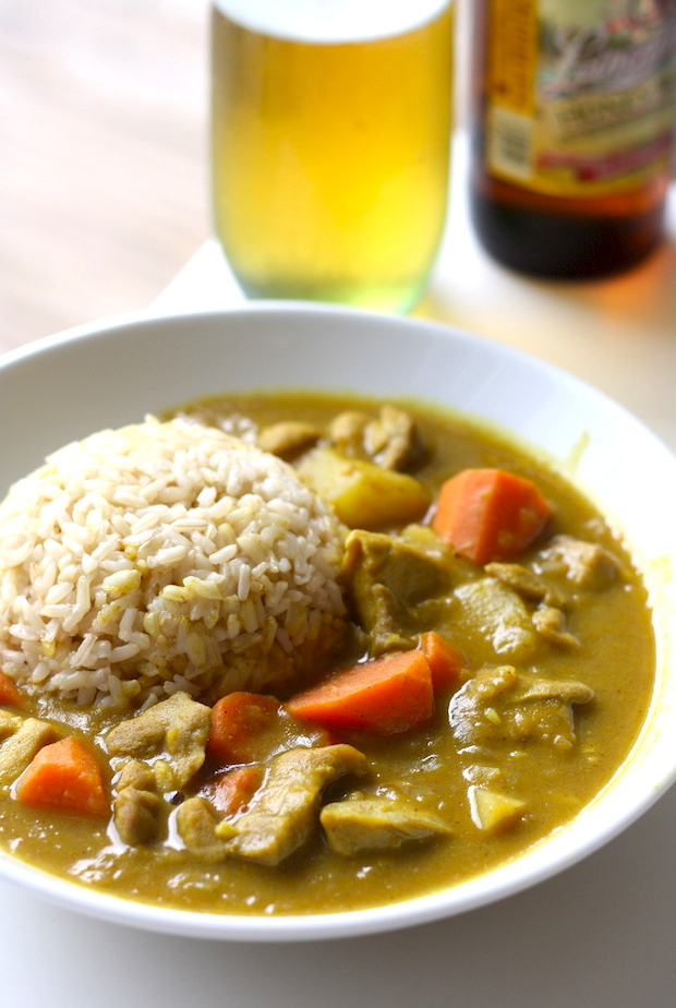 Japanese Chicken Curry by SeasonWithSpice.com