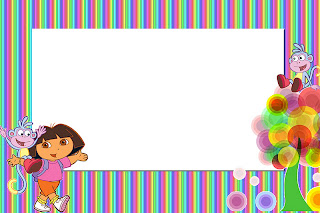 Dora The Explorer Invitations And Free Party Printables Is It