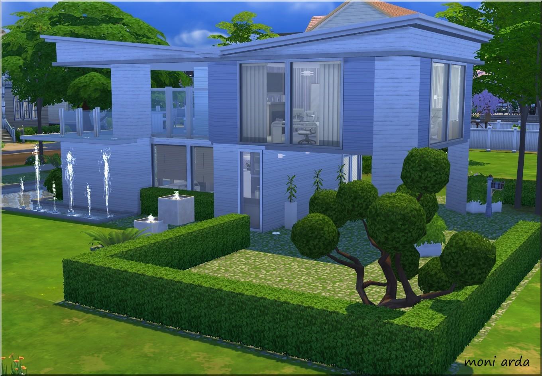 Arda Sims Modern House TS4