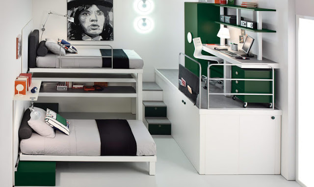 Modern-Stylish-Decoration-Bunk-Bed-and-Loft-design-for-teenagers