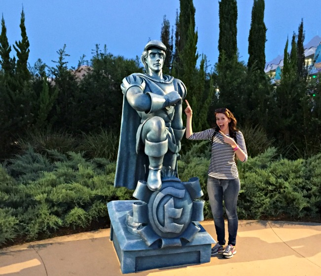 Disney World Recap - We stayed at the Art of Animation resort, in the Little Mermaid area, complete with statues of characters like Eric!