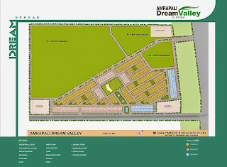 Amrapali Dream Valley :: Site Plan
