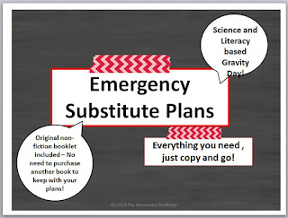 https://www.teacherspayteachers.com/Product/Emergency-Sub-Plans-Science-and-Literacy-Gravity-2121623
