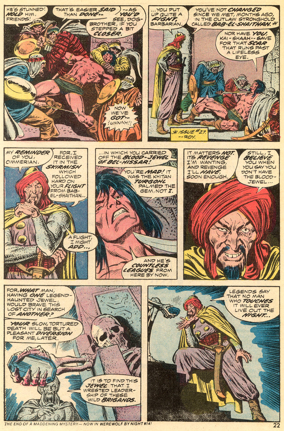 Conan the Barbarian (1970) Issue #35 #47 - English 13