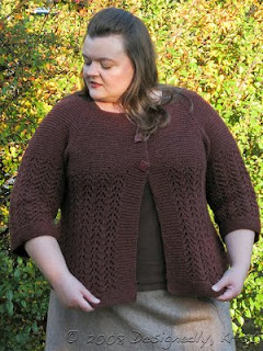 Knitting Patterns For Plus Size Sweaters : knitnscribble.com: Free cardi pattern all sizes many tongues