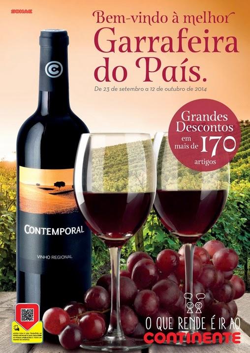Vinhos continente promoçoes