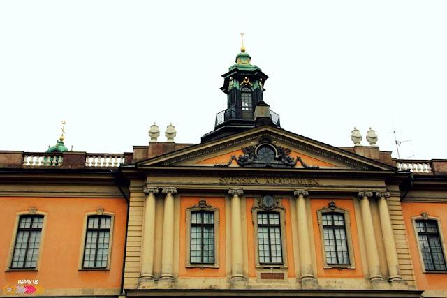 Stockholm - Académie suédoise