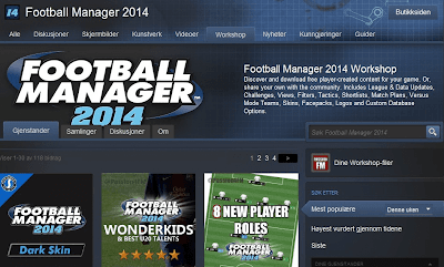 Football Manager 2014 Steam Workshop