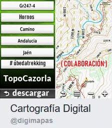 Cartografía Digital y Úbedatrekking