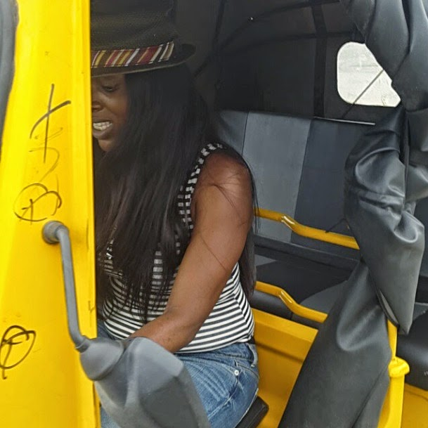 Annie Idibia Returns To Nollywood, See Her On Set With Mr Ibu (Photo)