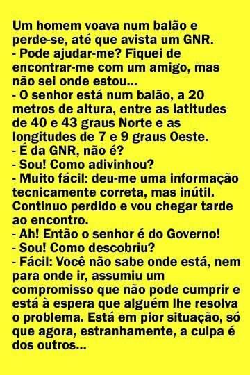 Politico ou GNR, qual o melhor (anedota)