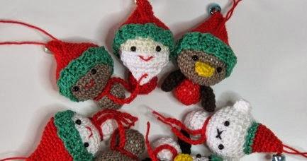 Amigurumi Hakelanleitung f?r niedliche Weihnachtsfiguren ...