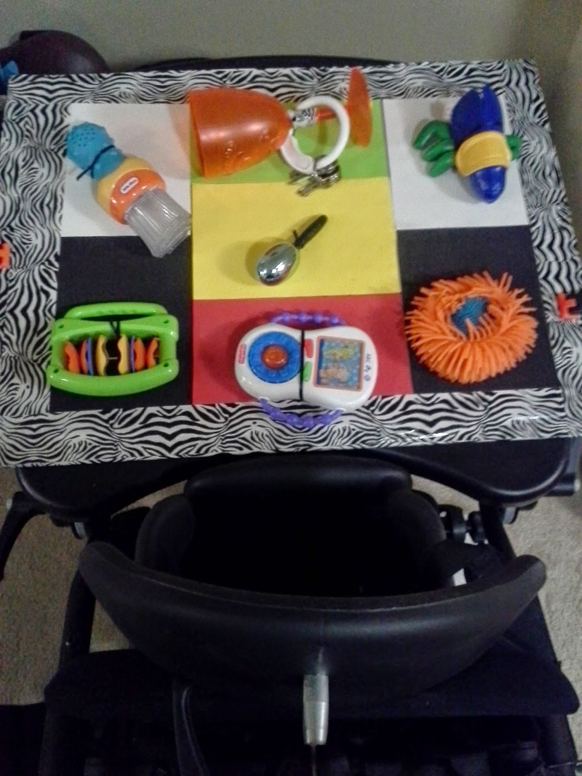 deafblind education play tray make it yourself