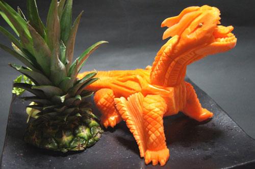 My sushi world vegetable monster rex