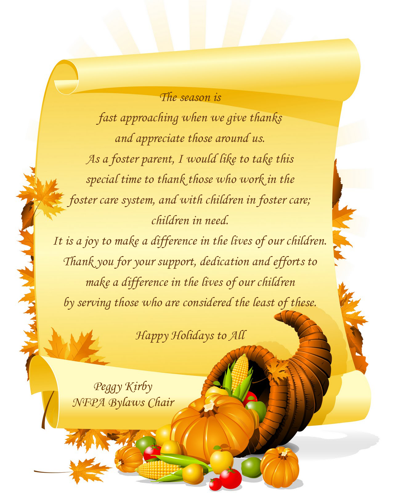 Happy thanksgiving happy thanksgiving messages to employees view