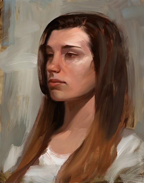 Tasha by Rob Rey - robreyfineart.com