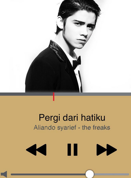 """Chords Kunci gitar Lagu """"Pergi Dari Hatiku"""" Aliando Syarief - The Freaks"""