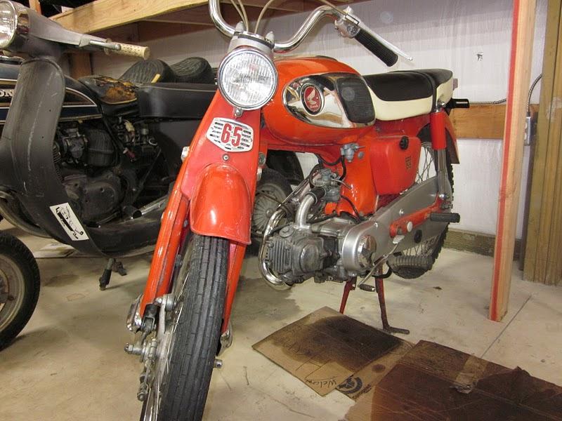 Oldmotodude 1966 honda s65 59 cafe classic motorbikes for Honda coeur d alene