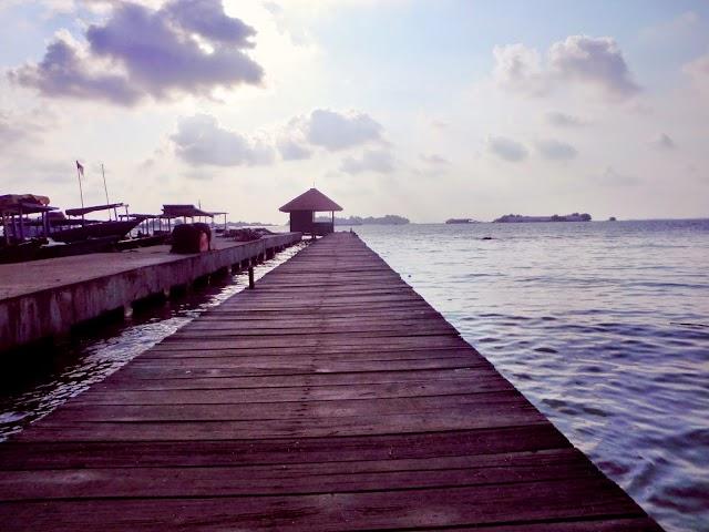 Menikmati Keindahan Panorama Pulau Pramuka