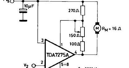 tda7275a dc speed controller circuit learning rh circuitlearning blogspot com