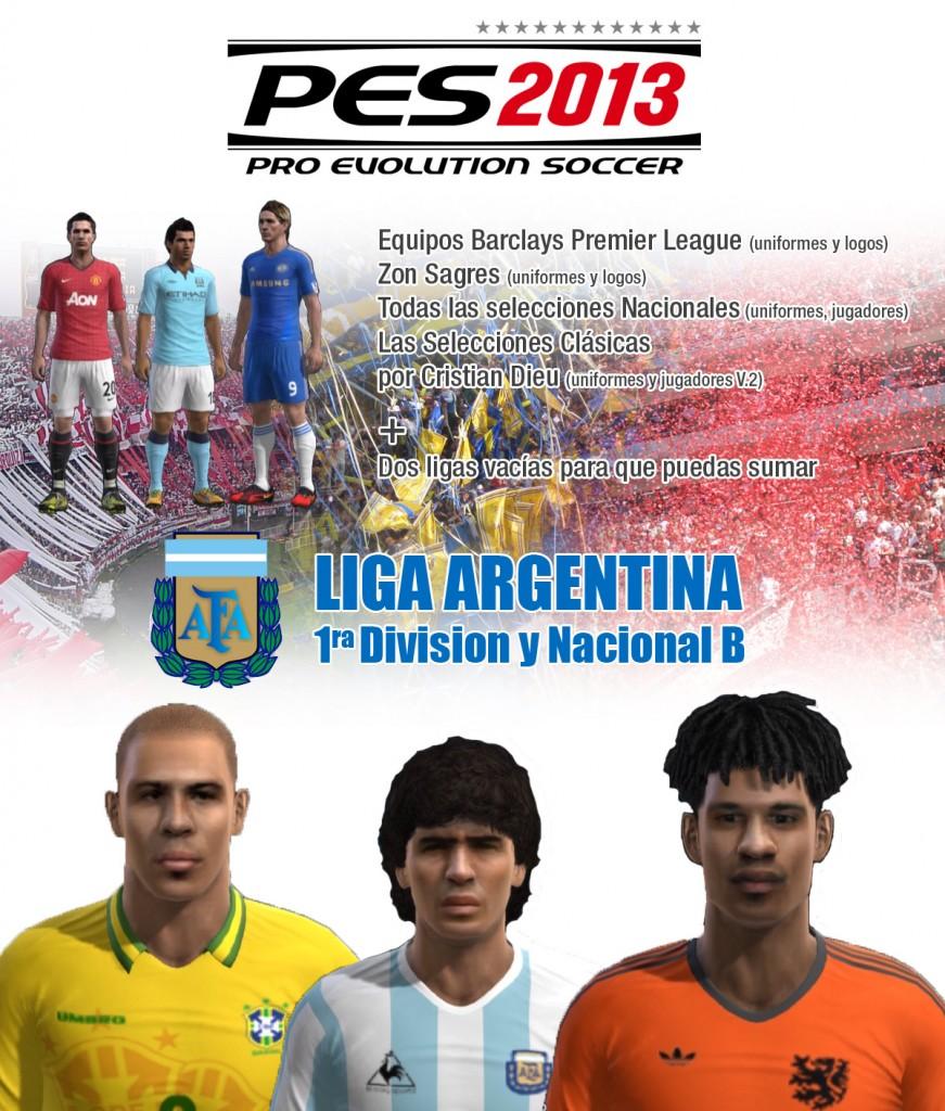 PES 2013  Option File V 2 Para Versi  N Americana