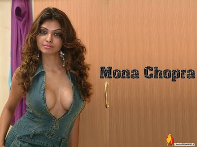 Indian Actress and Model Mona Chopra