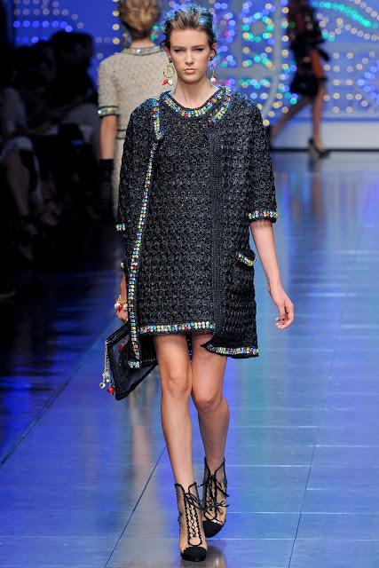 Atelier Crochet Viktoria Dolce Gabbana Spring Summer 2012